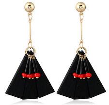 MARNI H&M Pendant Earrings Black