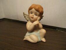 Vintage Porcelain Angel - Cherub Figurine - By: Homeco #1130