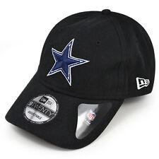 Dallas Cowboys New Era TEAM SHARPEN Black Strapback 9Twenty Dad's NFL Hat