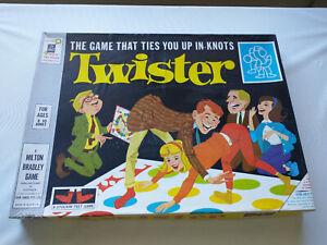 ORIGINAL Vintage 1968 Twister Board Game, Milton Bradley (VTG 1960's) COMPLETE