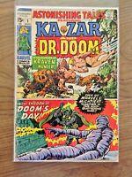 Astonishing Tales #1 Ka-Zar and Dr. Doom 1970 Marvel Comics