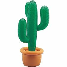 Inflatable Cactus Cowboy Wild West Hawaiian Beach Summer Party Props Decorations