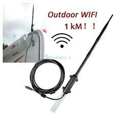 13DBI RP-SMA 1000M 2.4 GHz Wireless Wifi Antenna Aerial Modem Router Outdoor US