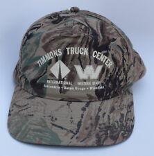 TIMMONS TRUCK CENTER INTERNATIONAL WESTERN STAR Snapback Camo Baseball Cap Hat