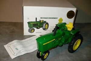 1/16 3010 JOHN DEERE Toy Tractor, 3-point,  Beckman Endowment NIB 1 of 3000
