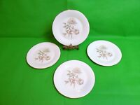 Royal Doulton Yorkshire Rose Salad Plates x 4