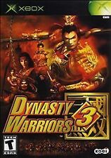 DYNASTY WARRIORS 3 ORIGINAL XBOX DISC ONLY