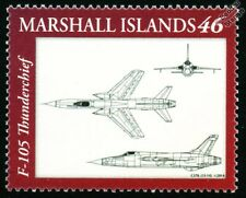 USAF Republic F-105 THUNDERCHIEF Fighter-Bomber Aircraft Design Stamp