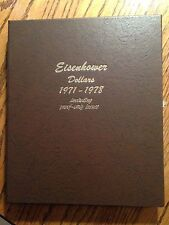 Complete IKE Collection With1973-S Eisenhower Dollar 40% Silver  (32) Coins Inc
