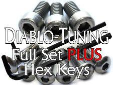 Ibanez Edge Zero / ZR Tremolo Saddle & Locking Nut Screws & Hex Keys STAINLESS