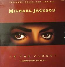 """Michael Jackson, In the closet - mixes behind door #2, NEW/MINT UK 12"""" single"""