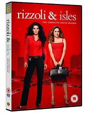 RIZZOLI AND ISLES: Season 6 * Brand New and Sealed * Region 2 UK * Free Postage