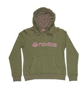 Navitas Women's Lily Green & Pink Hoody *All Sizes* NEW Carp Fishing Clothing