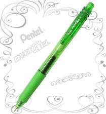 Pentel EnerGel-X BLN105 0.5mm Retractable Gel Roller Pen Pack of 12 -Lime Green