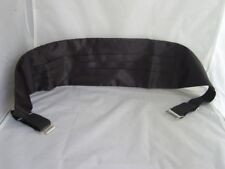 "SALE > Mens Polyester Black Cummerbund- Up to 48 ""=120cm Waist>P&P 2UK>1st Class"