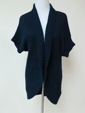 Alice & Olivia Blue 100% Cotton Cardigan Sweater Sz S