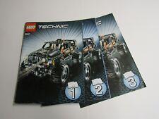 LEGO Technic Bauanleitung Instruction 8297 Großer Geländewagen Extreme Offroader