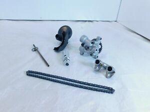 Yamaha YZFR6 YZF R6 FZ6 FZ-6 Engine Motor Oil Pump Assembly Set W/ Chain & Pipes