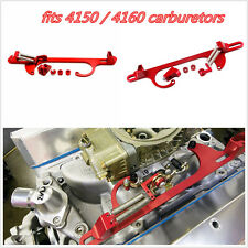Car Engine Carburetor 4150 4160 Serie Red Billet Aluminum Throttle Cable Bracket