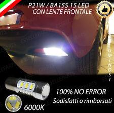 LAMPADA RETROMARCIA 15 LED P21W BA15S CANBUS MITO 6000K NO ERROR NO AVARIA
