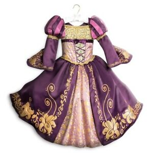 Disney Store Tangled Rapunzel Deluxe Designer Collection Costume Gown Dress 7/8