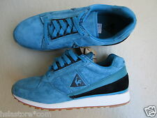 Le Coq Sportif 45 Eclat Suede Leather Teal/White-Gum