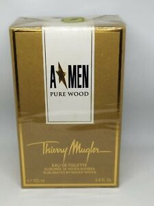 Thierry Mugler Pure Wood 3.4oz 100ml Eau De Toilette NIB