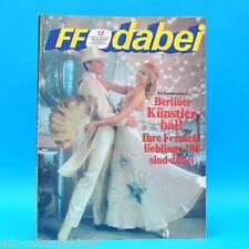 DDR FF-Dabei 12-1987 / 16.-22.03. Zeitschrift - Lok Leipzig Flimmerstunde Berlin