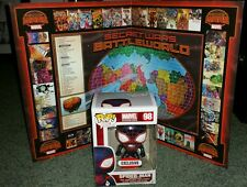 SDCC 2015 Exclusive Secret Wars Glossy Poster & Marvel Collector Corps Pop Funko