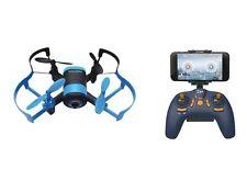 FPV Drohne Quadrocopter Explorer mit WIFI Livebild auf Handy, Komplettset blau