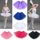 Kids Girls Tutu Ballet Princess Dancing Dress Up Wear Toddler Costume Skirt New