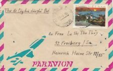 VIETNAM 1980 SINGLE FRANKING COMMERCIAL COVER SENT TO GERMANY
