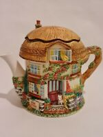 Leonardo Collection Decorative Teapot - Rose cottage