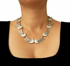 925 Sterling Taxco Silver Maria Belen Doves Necklace