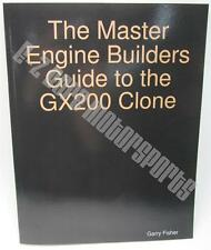 Go Kart Racing Engine Builders Book Manual Guide for Clone Honda GX200 BSP Stock