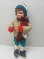 "Vintage 1991 Ashton Drake Galleries Winterfest 15"" Brian Hand Numbered 96041 Tag"