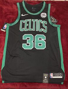 Nike Authentic Marcus Smart Boston Celtics Statement Edition VaporKnit Jersey 48
