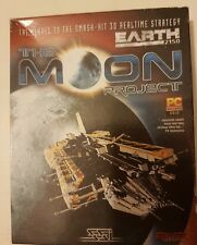 THE MOON PROJECT Pc Cd Rom Sequel to EARTH 2150 - Original BIG BOX - FAST POST