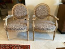 Nancy Corzine French Occasional Chairs - a Pair