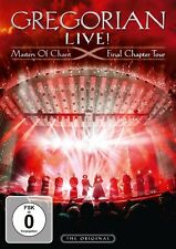 GREGORIAN - LIVE! MASTERS OF CHANT-FINAL CHAPTER TOUR DVD+1CD  DVD+CD NEW+