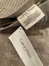 Calvin Klein Bath Towels (set of 4), Khaki, new w/ tags