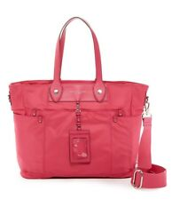 NWT Marc By Marc Jacobs Pink Preppy Nylon Eliz-A-Baby Diaper Bag Tote New