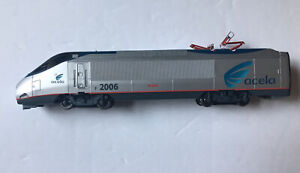 Ho Scale Bachmann Acela #2006 Powered Engine (does run) for parts or repair