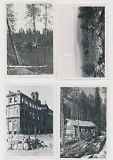 4 x Foto Finnland Lappland  2.WK (3409)