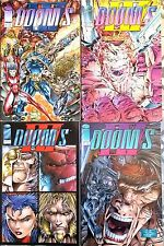 "Lot de 4  ""DOOM'S""  n°1 à 4 de 1994 - Version US - Images Comics"