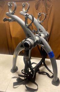 LOT A3A Saris Bones Trunk Rack 2-Bike Gray DECENT SHAPE Complete FREE SHIP