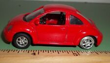 WELLY # 8157 Volkswagen NEW BEETLE   made in China RED