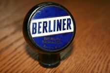 Berliner Beer Tap Knob - Berlin Brwg Co - Berlin, WI
