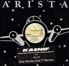 "KASHIF baby don't break your baby's heart ARIST 12 568 uk arista 12"" PS VG/VG+"