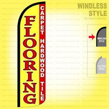 Flooring Carpet Hardwood Tile Windless Swooper Flag 115 Ft Tall Feather Sign Yz